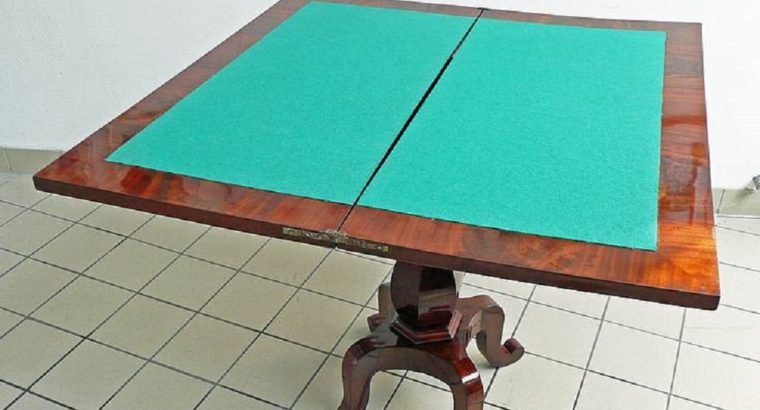 Game table 1900