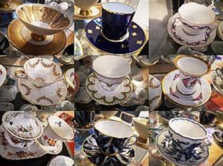 porcelain cup collection