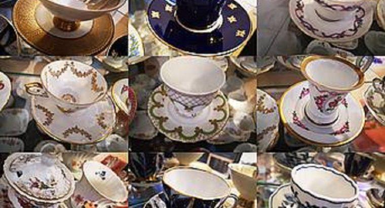 porcelain cup collection