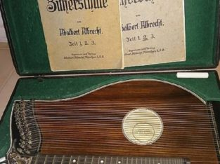 Zither Albert Sommer