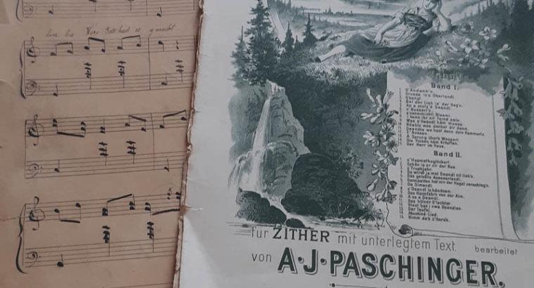 Paschinger Sheet of music