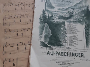 Paschinger Sheet of music