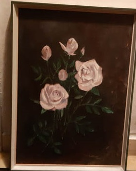 picture with roses