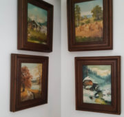 4 season paintings