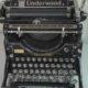 Typewriter Underwood