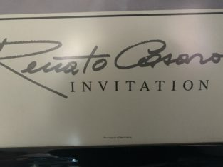 Renato Casaro invitation