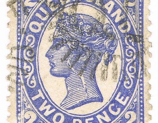 stamp – 1897 Queensland Two Pence