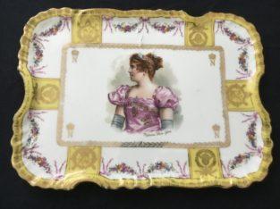 Antique tray Maison J. Dimier Genève