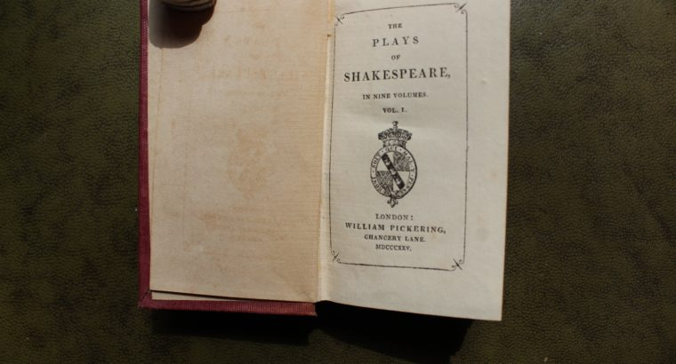 William Shakespeare Collected works
