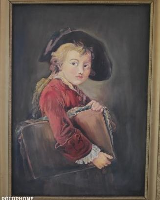 unknown oil painting