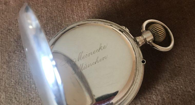 Antike Silbertaschenuhr