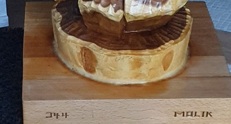 Wooden sculpture – Holzskulptur
