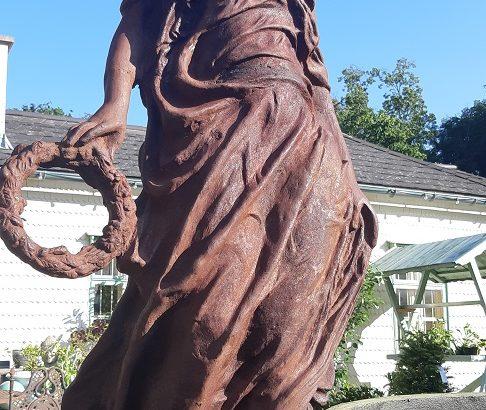 Goddess sculpture