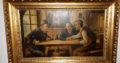 Oil Painting drinking men