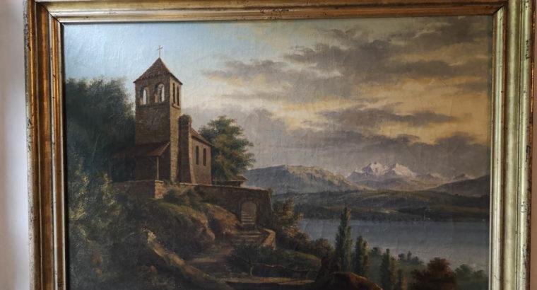 Schattenburg Museum Painting