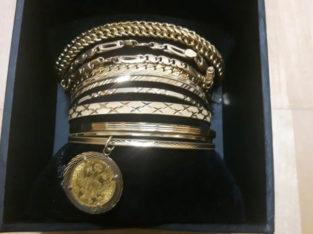 Golden bracelets