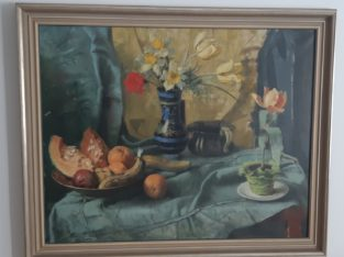 Still life oil paints