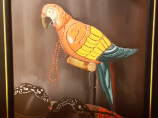 parrot painting