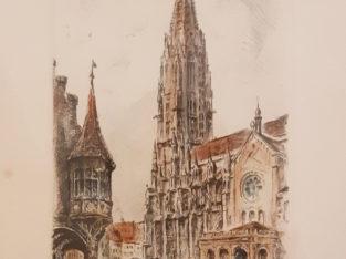 Drawing Freiburg