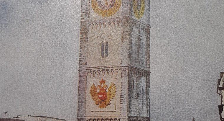 City Tower of Enns by Mandelsloh