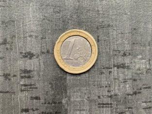 FEHLPRÄGUNG 1€ Münze 2002 Spanien