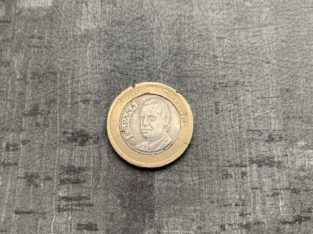 Error Coin 1€ coin 2002 Spain