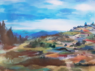 Malka Tawil Holan – landscape painting