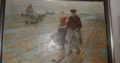 Oil on Canvas: Im Watt, am Meer