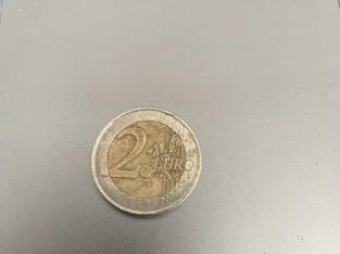 2 € coin France Liberte, Egalite, Fraternite 2001