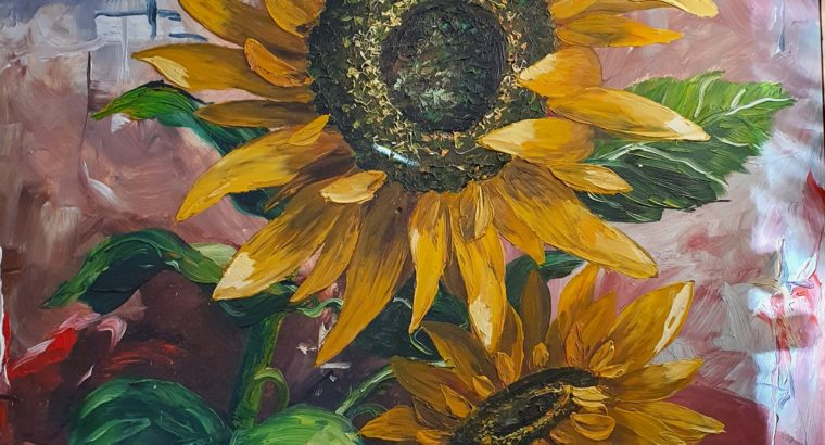 Sunflowers – Sonnenblumen