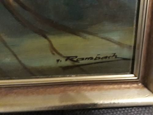 "Oil Painting: ""Auerhahn"""