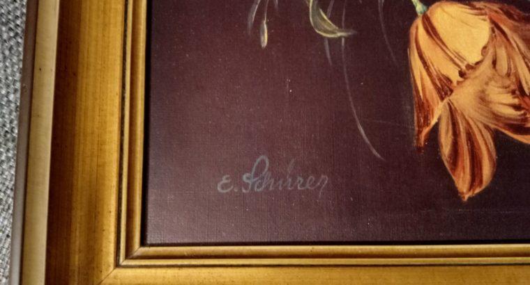 """Painting """"Blumenzauber"""""""