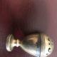 Salt shaker, pepper shaker, silver emblem – Salzstreuer Pfefferstreuer Silber Wappen