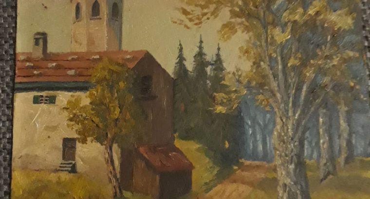 """Church motif """"Kirchenmotiv"""""""