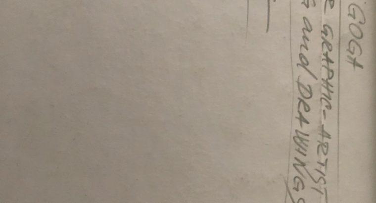 Rudi Goga sketch drawing – Skizze Zeichnung