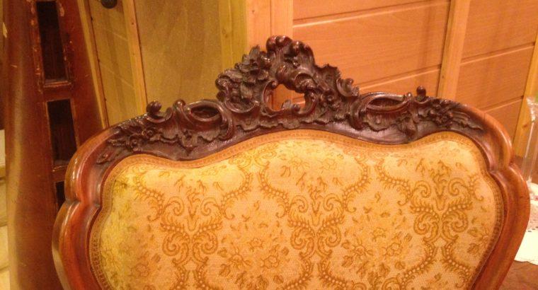 Antique seating set