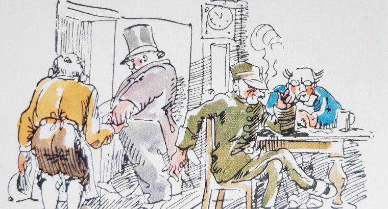 Drawing Wilhelm M. Busch