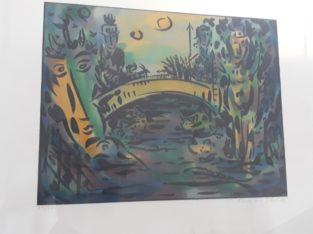 "Painting: ""Tschungelmotiv"" Jungle motif"
