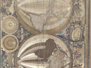 Nova Totius Terraum Orbis Tabula Auctore F. DE Wit.
