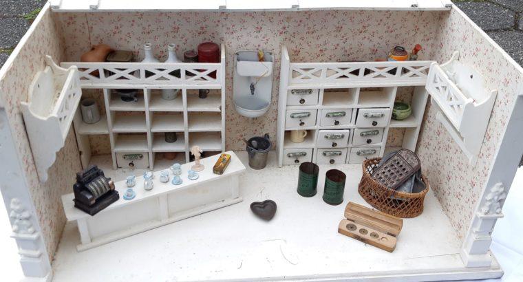 Dollhouse shop – Puppenstube Kaufladen