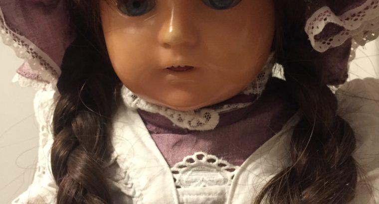 natural hair doll leather body – echthaarpuppe Lederkorpus