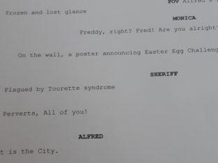 discarded movie script