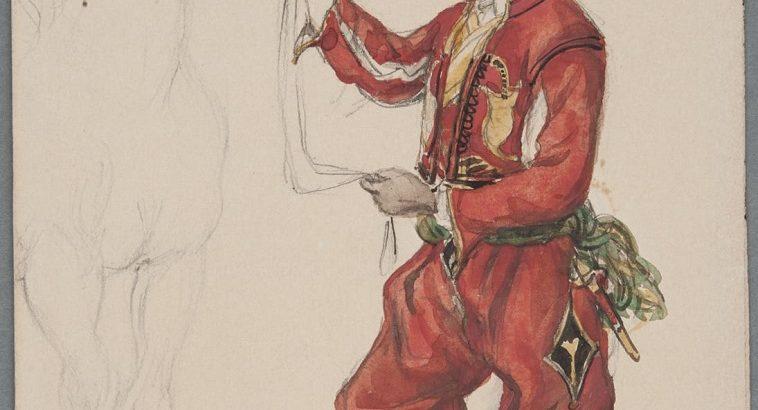 Fritz von Dardel drawing