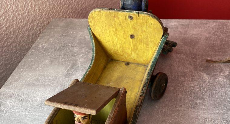 Old wooden toy – Altes Holzspielzeug