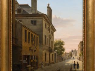 Étienne Bouhot painting