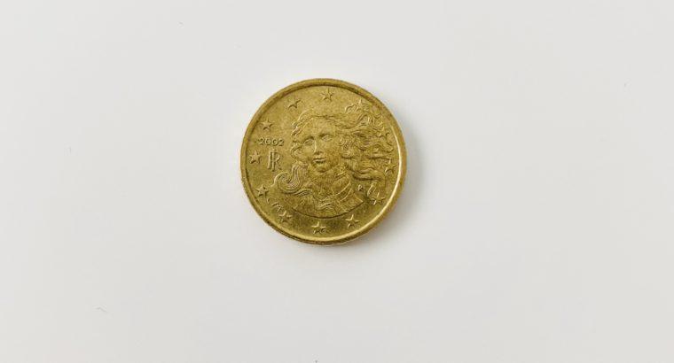 10 cent Euro mint error coin – Münze Fehlprägung