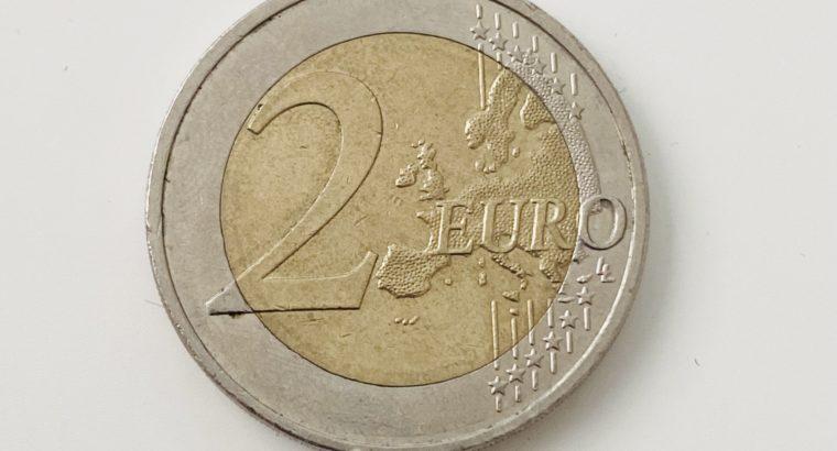 mint error coin – 2€ Euro Münze Fehlprägung Deutschland WWU 1999-2009