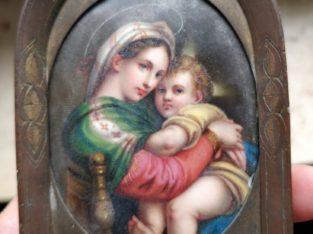 Painting of Mary – Marienbild