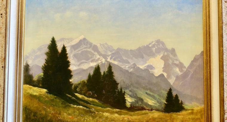 Oil Painting Sepp Happ