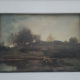 Charles-François Daubigny – Sluice in the Optevoz Valley – misprint